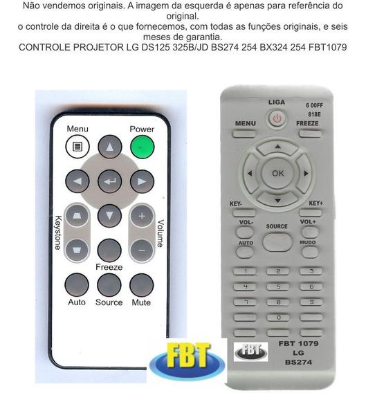 Controle Projetor Lg Ds125 325b/jd Bs274 254 2 Fbt1079