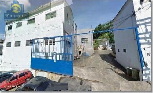 Galpão À Venda, 950 M² Por R$ 3.498.000,00 - Serraria - Diadema/sp - Ga0011