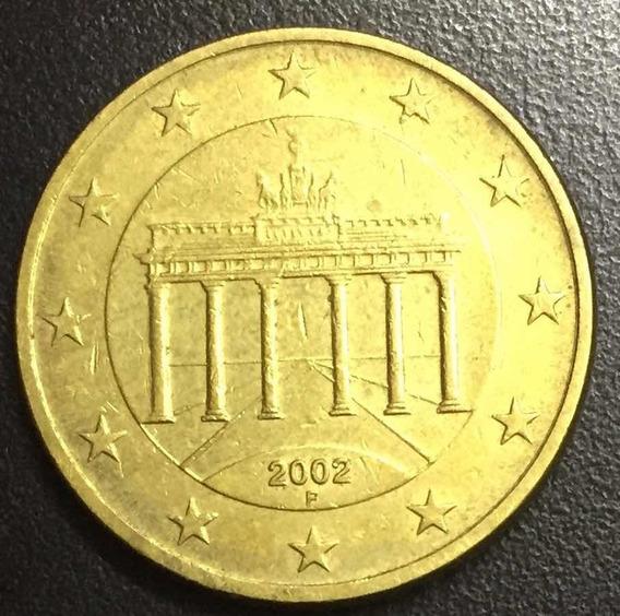Onesmile:) Moneda Euro 50 Centavos 2002 Alemania