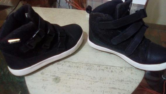 Zapato Escolar Tipo Botin Niño Jump Talla 31 Usado