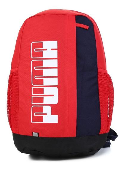 Mochila Puma Plus Blackpack Ii Vermelho Azul Marinho Tamanho