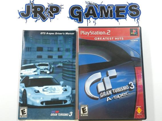 Gran Turismo 3 A-spec Original Americano Ps2
