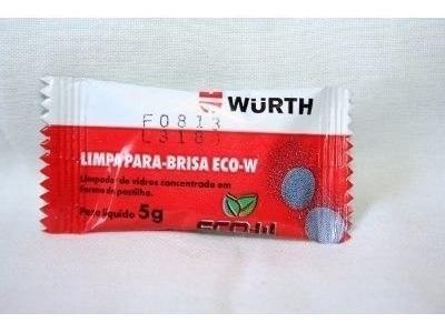 Limpa Para-brisa Em Pastilha Eco - Wurth 5g ( 20 Unidades )