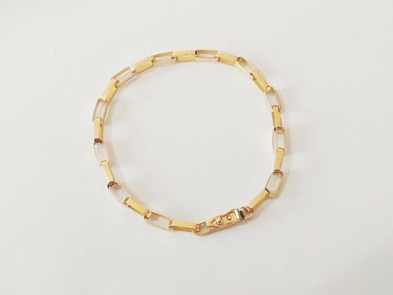 Pulseira Cartier 10 Gramas Ouro 18kl 750 Masculina