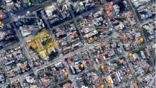 Terreno À Venda Com 518m² Por R$ 1.750.000,00 No Bairro Bigorrilho - Curitiba / Pr - 682