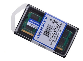 Memoria Ram Macbook Ddr3l 8gb 1600mhz 1.35v