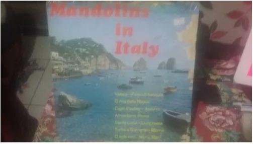 Lp/vinil Mandolins In Italy - 1976
