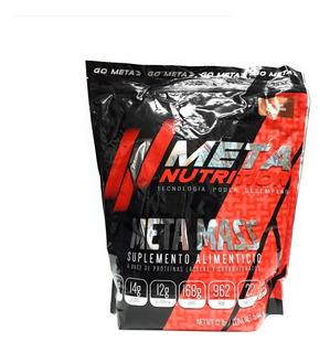 Meta Mass 12 Libras Meta Nutrition Varios Sabores Envío Full
