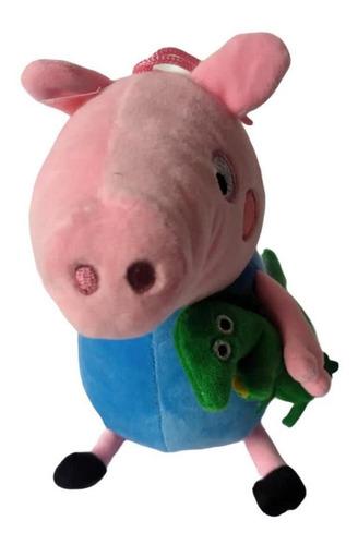 Peluche George Peppa / Pepa Pig. Sonido. 20 X 14 Cm