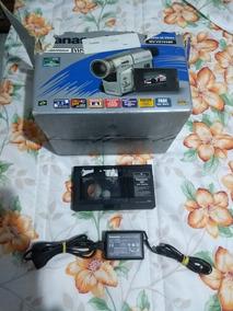 Câmera Filmadora Panasonic Nv-vz145 Ótimo Estado Carregador
