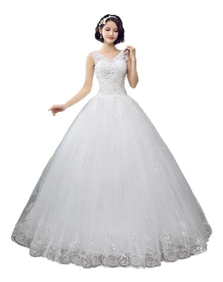 Vestidos De Novia Boda Elegante Economico Barato Princesa