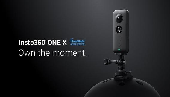 Camera 360º Insta360 One X / Você Grava Tudo A Sua Volta.