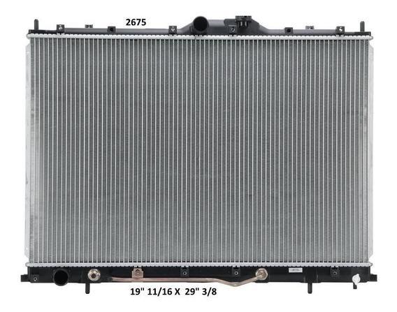 Radiador Mitsubishi Endeavor 2005 Deyac T/a 16 Mm