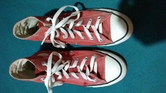 Zapatillas Converse Rojas Usadas Eur 38