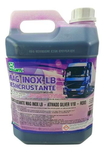 Limpa Baú Alumínio Automotivo Concentrado Intercap 5 Litros