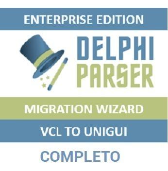 Delphiparser Enterprise Vcl To Unigui - Delphi 2006 Até Rio 10.3.2