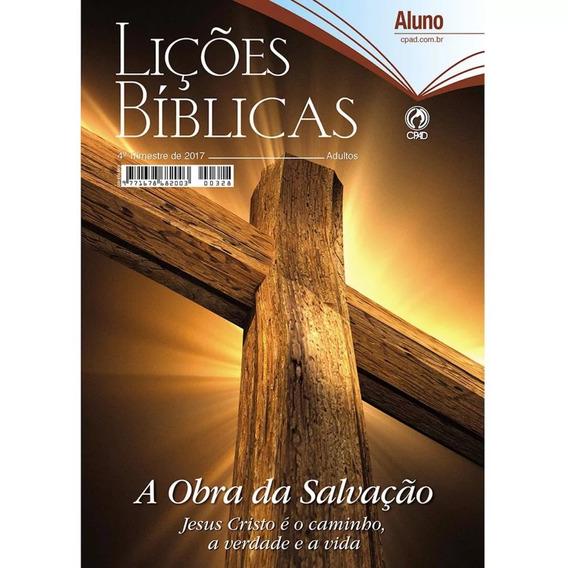 Revista Escola Bíblica Dominical - 4º Tri / 2017 - Aluno