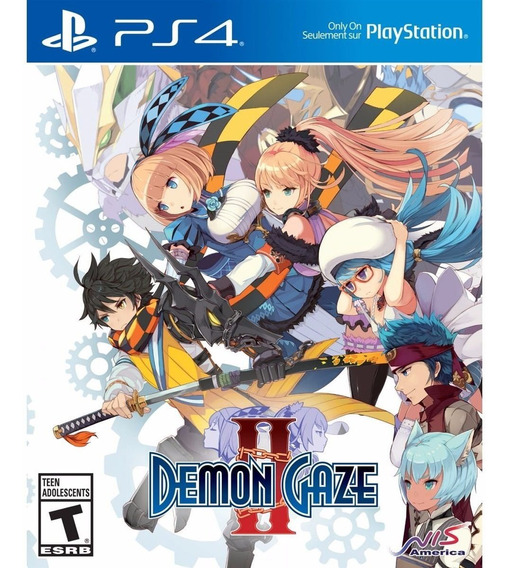 Demon Gaze 2 Ps4 Midia Fisica
