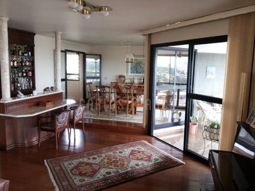 Excelente Apartamento No Campo Belo, 312 M² 4 Suítes, 4 Vagas, Lazer Total. - Cf22055