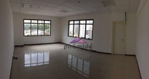 Sala, 40 M² - Venda Por R$ 260.000,00 Ou Aluguel Por R$ 1.300,00/mês - Jardim Aquarius - São José Dos Campos/sp - Sa0466