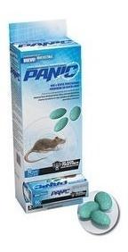 Veneno Ratas Raticida Cebo Panic Dispenser 100 Grs X 10 Unid
