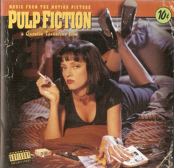 Cd Pulp Fiction - Music From The Motion Picture - Novo***