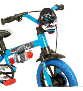 Bicicleta Bike Infantil Nathor Veloz Aro 12 Para Menino