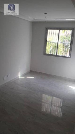 Apartamento Com 2 Dormitórios À Venda, 55 M² Por R$ 175.000,00 - São João - Mauá/sp - Ap9017