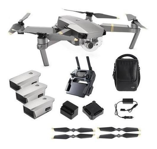 Drone Dji Mavic Pro Platinum Combo Fly More Com Nfe