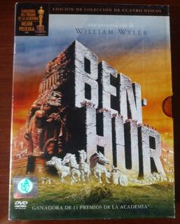 Ben Hur. Dvd Box Set Original. Edición De Colección 4 Discos