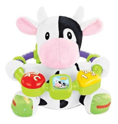 Juguete Bebe Peluche Didactico Musical Luces Babymovil
