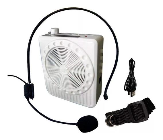 Amplificador Megafone Microfone Professores Kit Completo
