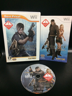 Juego Nintendo Wii Resident Evil 4