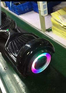 Patineta Skate Roller Electrica Balance Con Bluetooth Luces