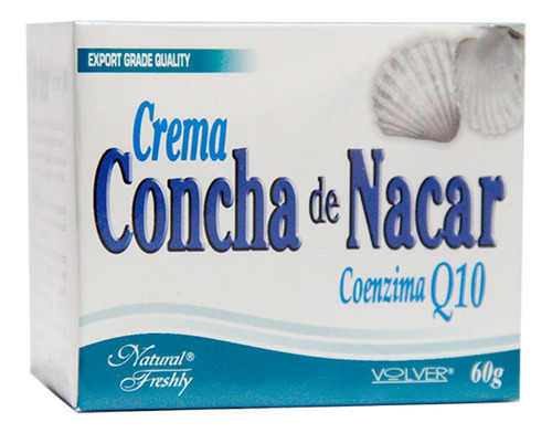 Crema De Concha De Nacar Pote X 60gr
