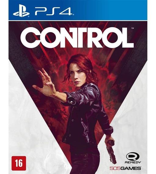 Control - Edição Padrão - Playstation 4 Digital