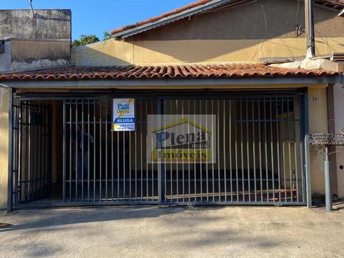Casa Com 1 Dormitório Para Alugar, 60 M²  - Jardim São Domingos - Sumaré/sp - Ca4369