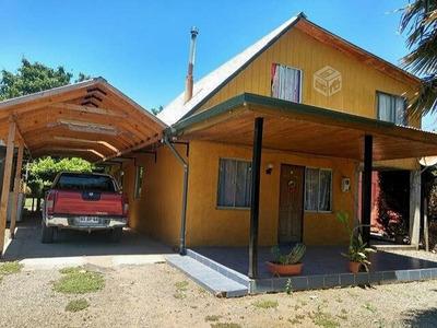 Casa 120 Mt2, Con Sitio De 1.800 Mts2, Los Robles