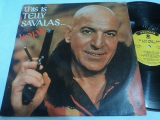 Lp:vinil:kojak:this Is Telly Savalas:rock Pop:country Music