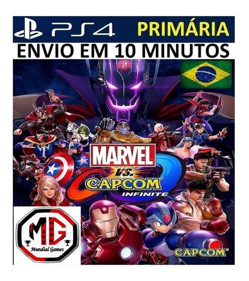 Marvel Vs. Capcom: Infinite Ps4 - Original 1 Psn - Portugues