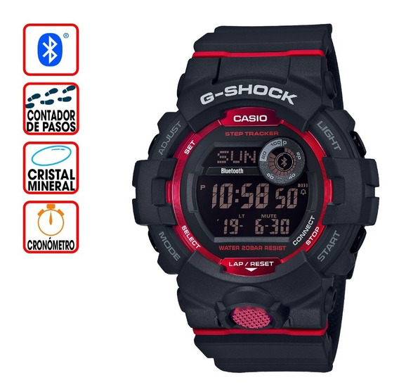 Reloj Casio G-shock Youth G-squad Gbd-800-1cr Step Tracker