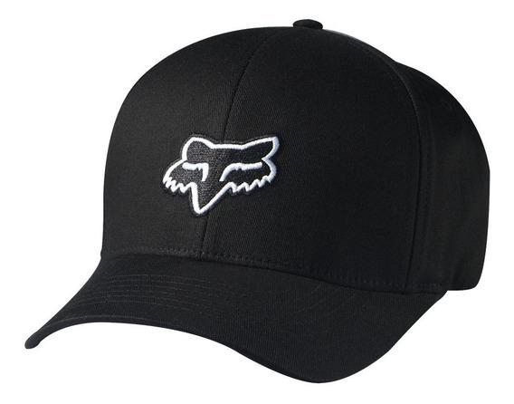 Gorra Fox Legacy Flexfit Negro Blanco