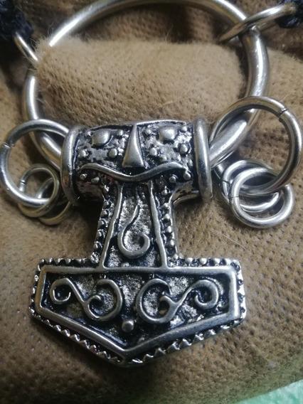 Martillo De Thor Collar Mjolnir
