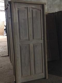 Puerta Modelo 4 Tableros Reforzada