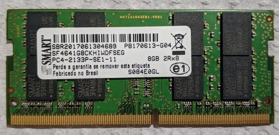Memória Ram Para Notebooks - Smart - Ddr4 - 8 Gb - 2133 Mhz