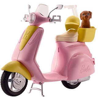 Barbie Scooter + Cachorro
