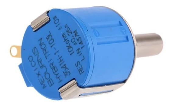 Potenciômetro 3541h-1-103l / Hybritron 10k Ohm 10% 2w Bourns