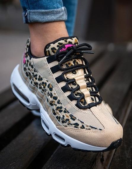 Zapatillas Nike Air Max 95 Leopard Print Únicas E Impecables