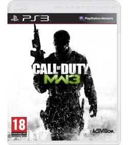 Call Of Duty Modern Warfare 3 Cod - Mídia Física / Ps3