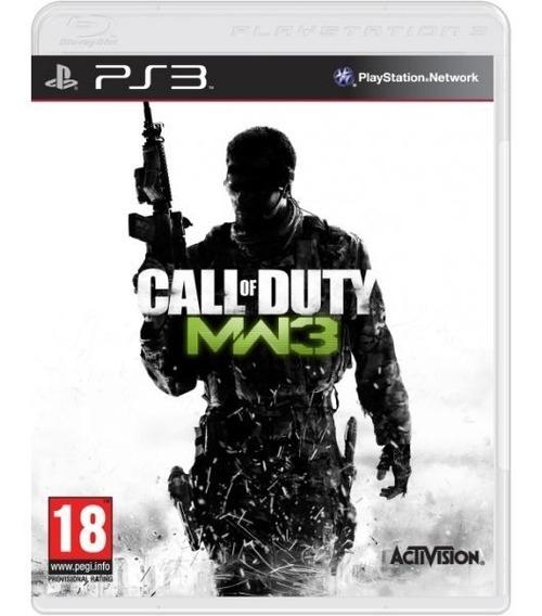 Call Of Duty Modern Warfare 3 Cod - Mídia Física / Ps3
